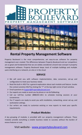 Rental property management software