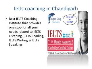 Ielts coaching in Chandigarh