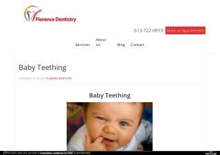 Ottawa Dental Care - Baby Teething