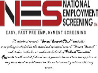 Church Worker Screening- National Employment Screening