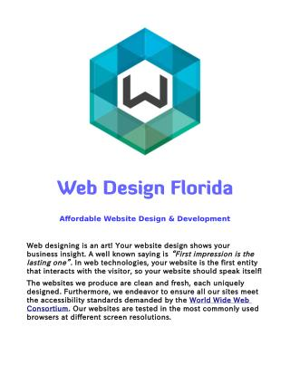 Website Design and Web Development in Jacksonville, Florida
