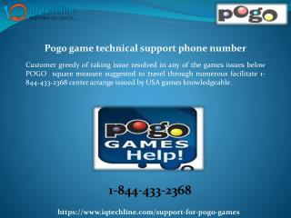 Pogo games technical Support Phone Number