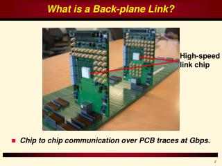 Multi-tone Signaling for High-speed Back-plane Electrical Links