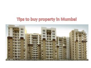 Tips to buy property in Mumbai