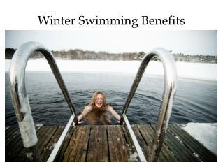 Winter Swimming Benefits: Watersafe Swim School