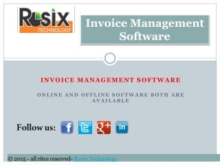 Invoice software development company | Billing Software development Company