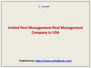 Pool Management Company in USA