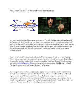 Network Configuration Juno Beach