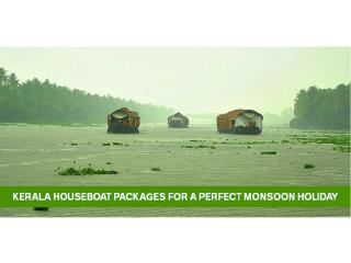 Kerala Houseboat Packages For A Perfect Monsoon Holiday