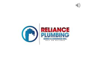 Drain Cleaning and Repair Services - Reliance Plumbing Sewer & Drainage, Inc. Glenview, IL
