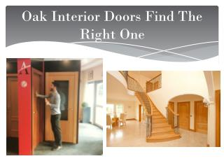Oak Interior Doors Find The Right One