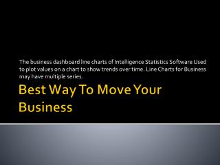 Best way to move your business