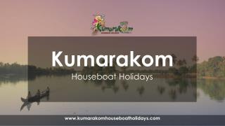 Kumarakom Houseboat Holidays Alleppey