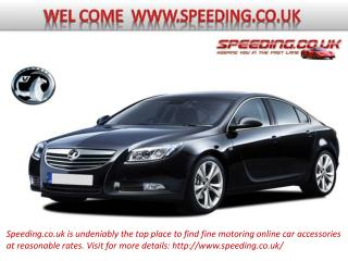 Online car accessories for top cars available at Speeding.co.uk