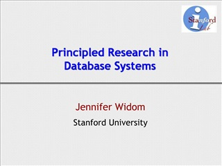 Principled Research in Database Systems