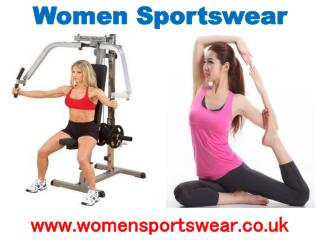 Buy Sportswear For Comfortable Workout