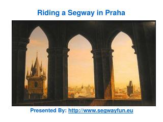 Riding a Segway in Praha