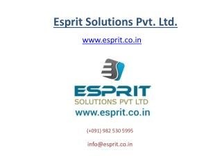 Android mobile application development for android phone, tablet at Esprit.co.in