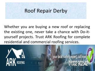 Roof Repair Derby