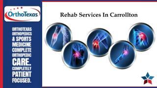 Rehab Services In Carrollton