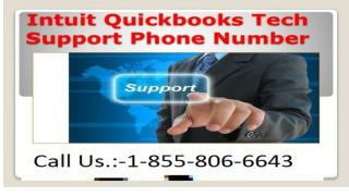Have a Problem call Quickbooks Support Number  1-855-806-6643  Intuit Support