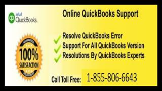Instant  resolution Quickbooks Support   Number  1-855-806-6643   Intuit Support