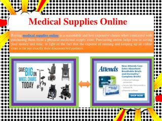 Medical Supplies Online - Medical Solutions