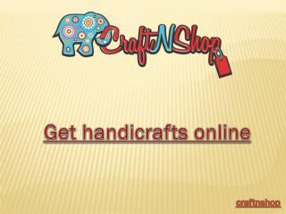 Buy handicraft online