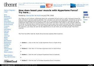 Hypertone Force - Find the best Testosterone Booster supplement!