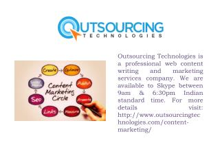 Professional Web Content Writing and Marketing Services