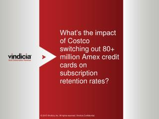 What's The Impact of Costco Switching Out 80  Million Amex Credit Cards On Subscription Retention Rates?