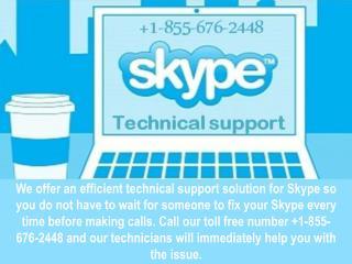 Skype Tech Support