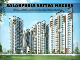 Salarpuria Magnus Luxurious Residential Apartments in Hyderabad