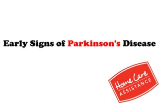 Early Signs of Parkinson's Disease