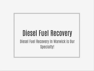 Diesel Fuel Recovery