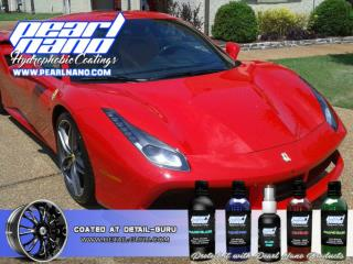 Pearl Nano give you a long lasting protection in your car in scratch, water and dirt.