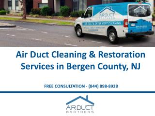 Air Duct Cleaning Services in Bergen County, New Jersey - Air Duct Brothers