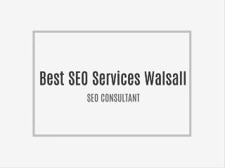 Best SEO Services Walsall