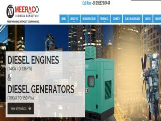 diesel generating set manufacturers from india