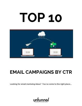 Our top 10 B2B email marketing campaigns [and why they work]