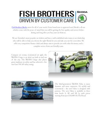 Fish Brothers Group | Skoda