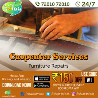 EFFICIENT Holaa  Carpenter Service FOR YOU
