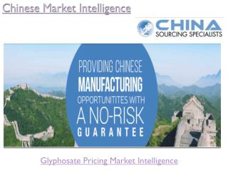 Import Export Data Pricing Quote Forecasts
