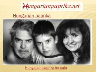 Hungarian paprika seeds