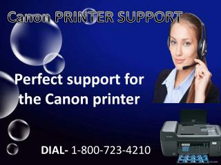 Canon Printer Customer Service Phone Number 1-800-723-4210