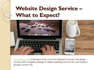 Website Design Service – What to Expect?