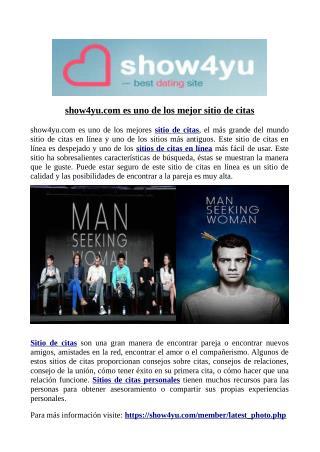 show4yu.com es uno de los mejor sitio de citas