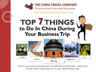 Top Tips For China First Time Travellers