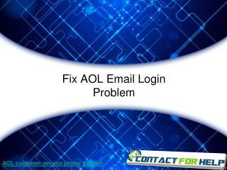 Troubleshooting Guide to Fix the AOL Email Login Problems
