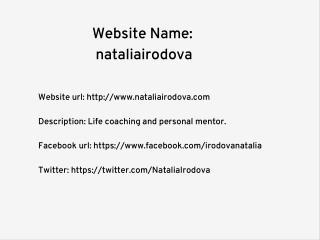 Natalia Irodova